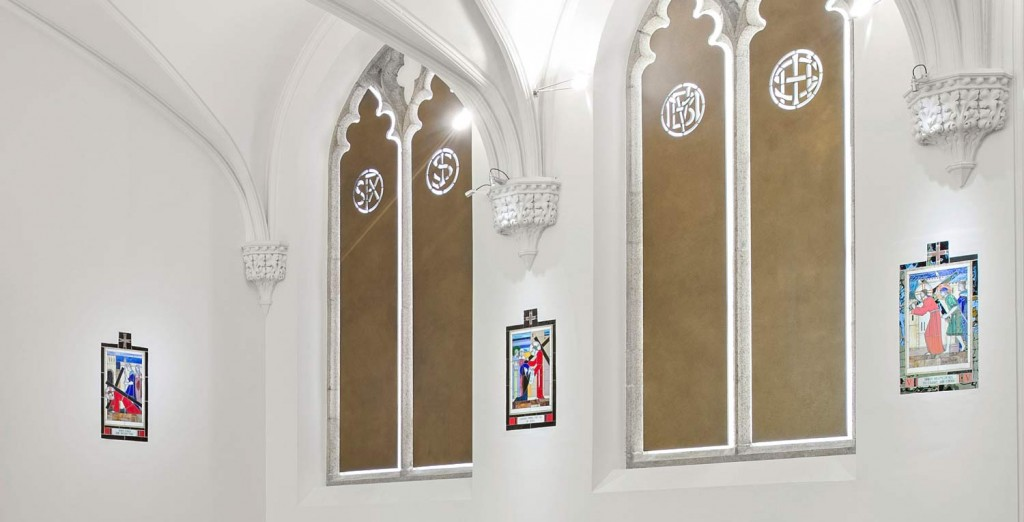 Creative Dublin. Interior designer Maria Fenlon suggests places to visit in April. Image shows Belvedere Chapel, Dublin